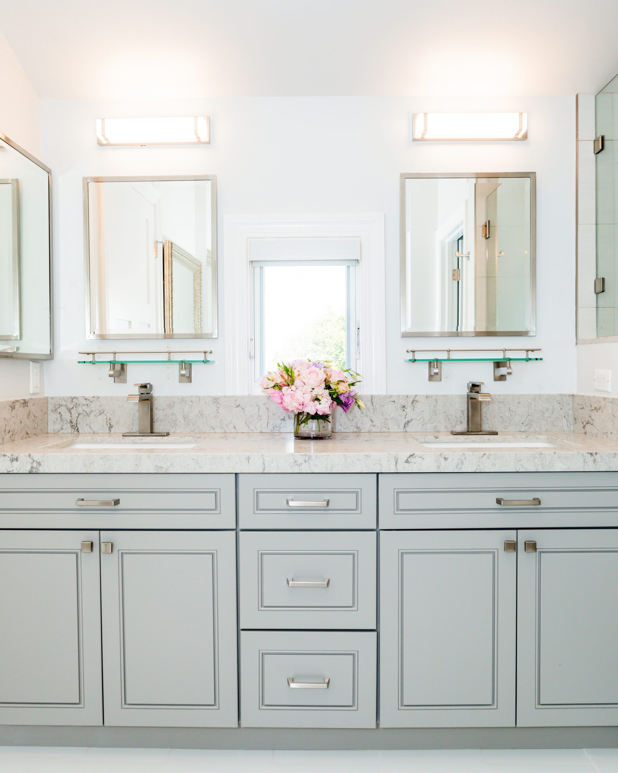remodeled bathroom in Temple City
